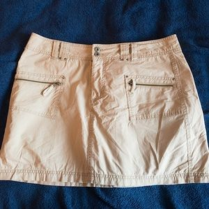 Faded Glory Khaki Skort